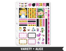 Variety • Alice Weekly Spread Planner Stickers