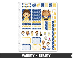Variety • Beauty Weekly Spread Planner Stickers - Planner Penny