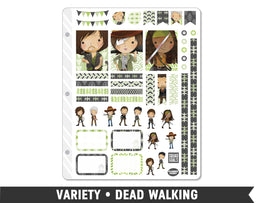 Variety • Dead Walking Weekly Spread Planner Stickers