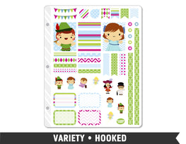 Variety • Hooked Weekly Spread Planner Stickers