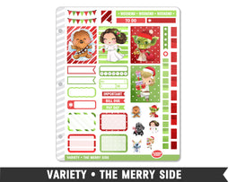 Variety • The Merry Side Weekly Spread Planner Stickers
