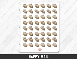 Happy Mail Planner Stickers - Planner Penny