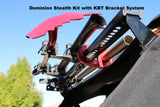 Dominion Stealth kit with KBT bracket systyem