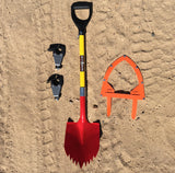 "KB Shovel with KBT 2 15/16"" Stand Off Mount and Guard"