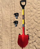 "KB Shovel with KBT 1 5/8"" Stand Off Mount"