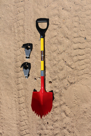 "KB Shovel with KBT 2 15/16"" Stand Off Mount"