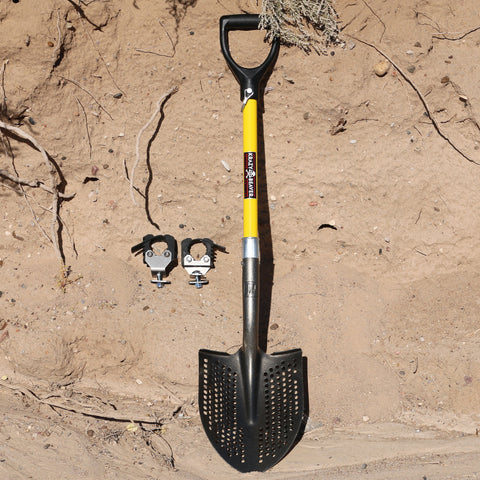 "Mud Shovel with KBT Mounts 1 5/8"" Stand Off"