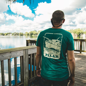 Artisan T-shirt collection. Pilar Boat edition