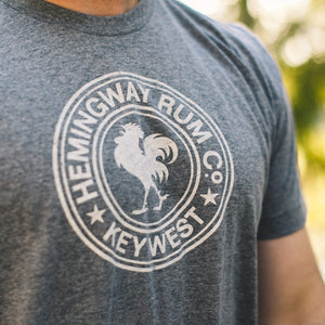 Hemingway Rum Co. Key West Grey Tee