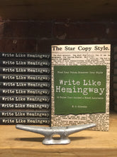 "Load image into Gallery viewer, ""Write like Hemingway"""