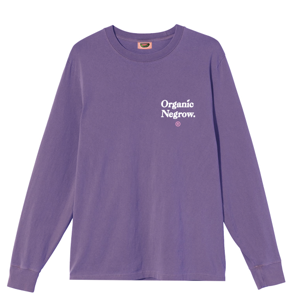 ORGANIC NEGROW LS TEE | GRAPE