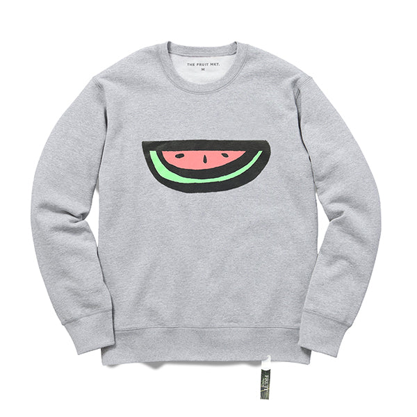 Logo crew sweat (GREY)