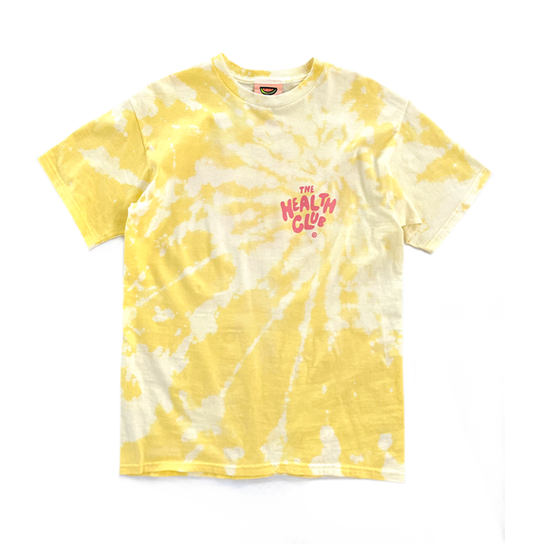 THE HEALTH CLUB TIEDYE-YELLOW