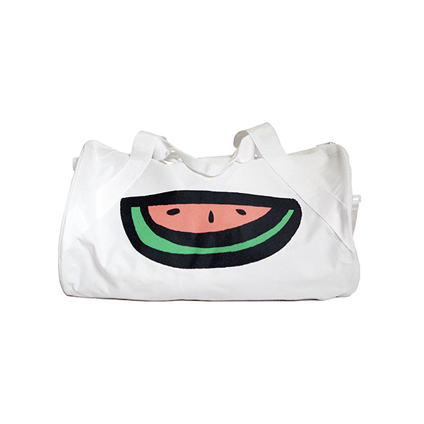 WATERMELON LOGO DUFFLE BAG