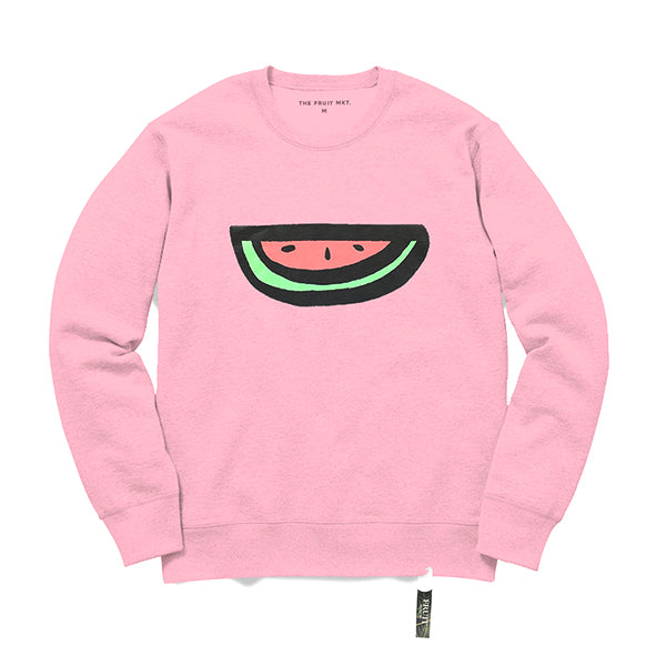 Logo crew sweat (PINK)