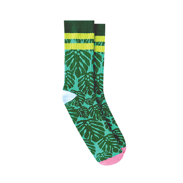 MONSTERA SOCKS (PINKY TOES)