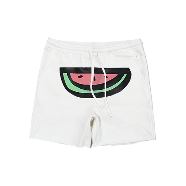 WATERMELON  LOGO SHORT- WHITE