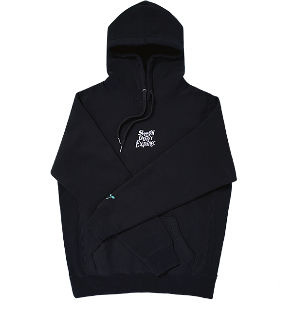SEEDS DON'T EXPIRE - HOODIE (BLACK)