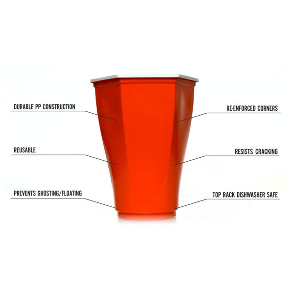 2-pack Hexcup™ Beer Pong Set