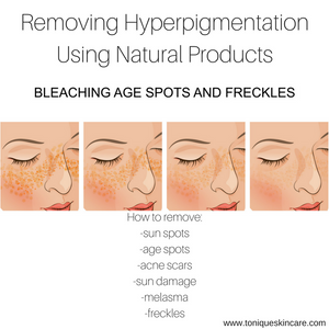 hyper pigmentation removal picture