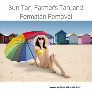 sun tan removal billboard