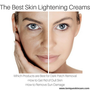 the best skin lightening creams graphic