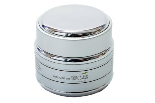 Power blend facial anti-aging whitening and lightening cream