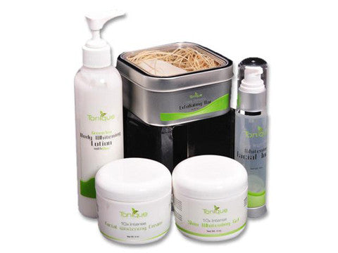 The Color Me Beautiful Face and Body Skin Whitening Package
