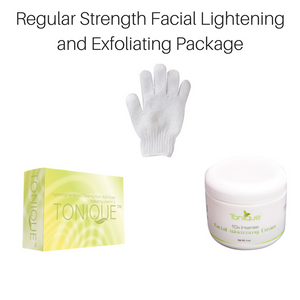 Regular Strength Facial Whitening & Exfoliating Package