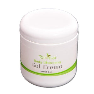 Semi-custom body whitening gel creme