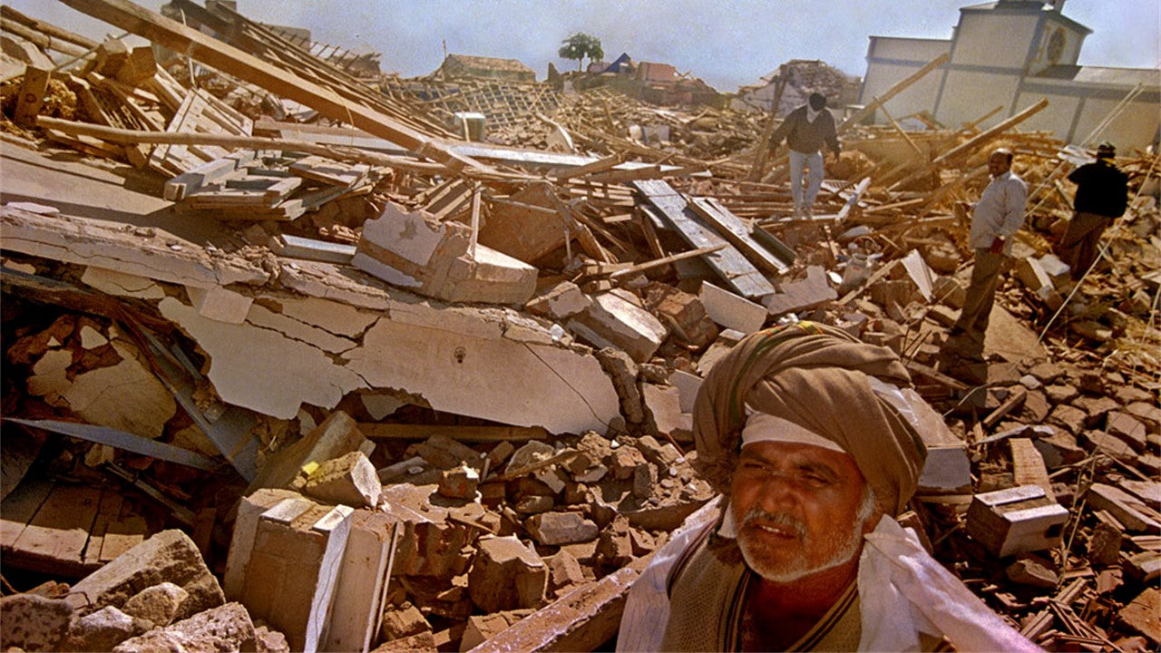 After effects of Bhuj earthquake 2001