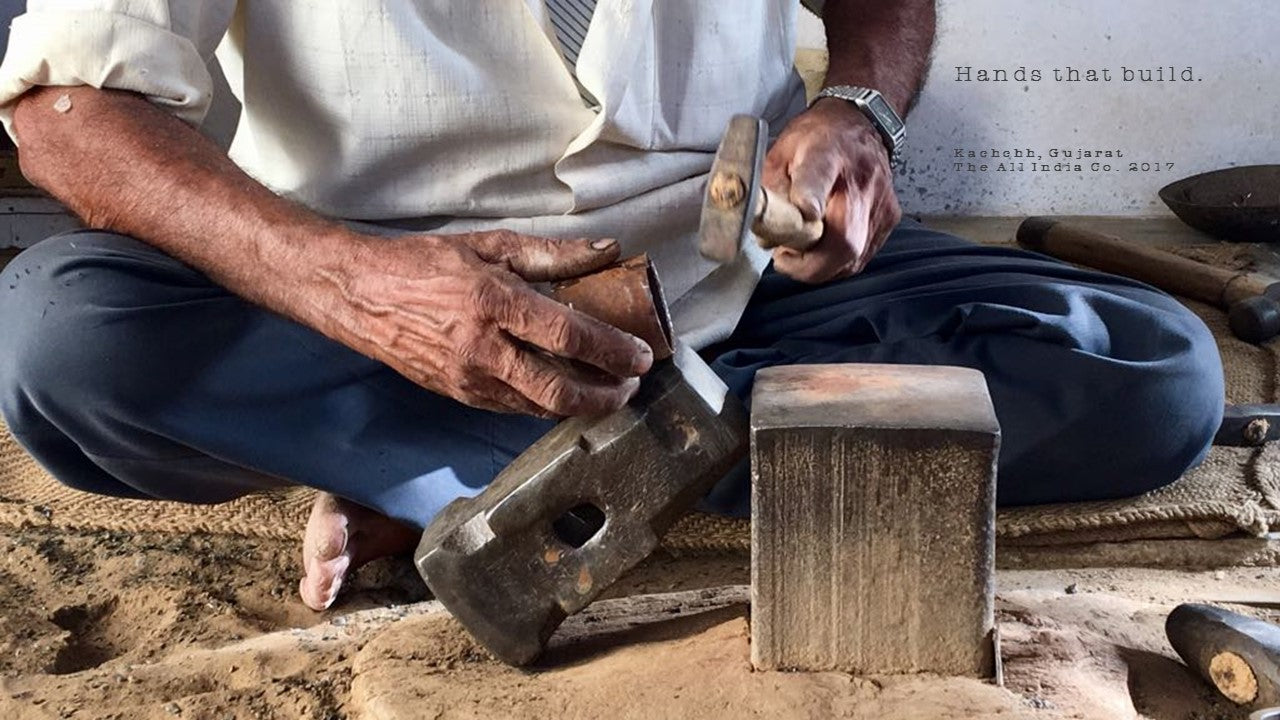 Craftspeople of Bhuj- master craftsman Luhar Sidhik