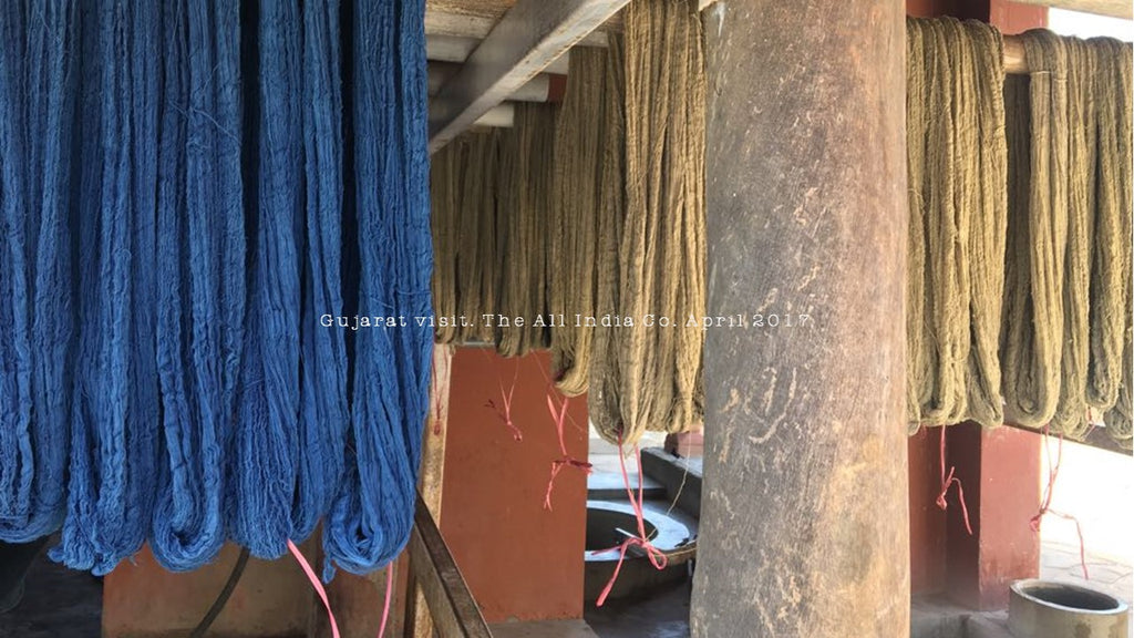 TAIC Natural and Indigo Dyed Collected
