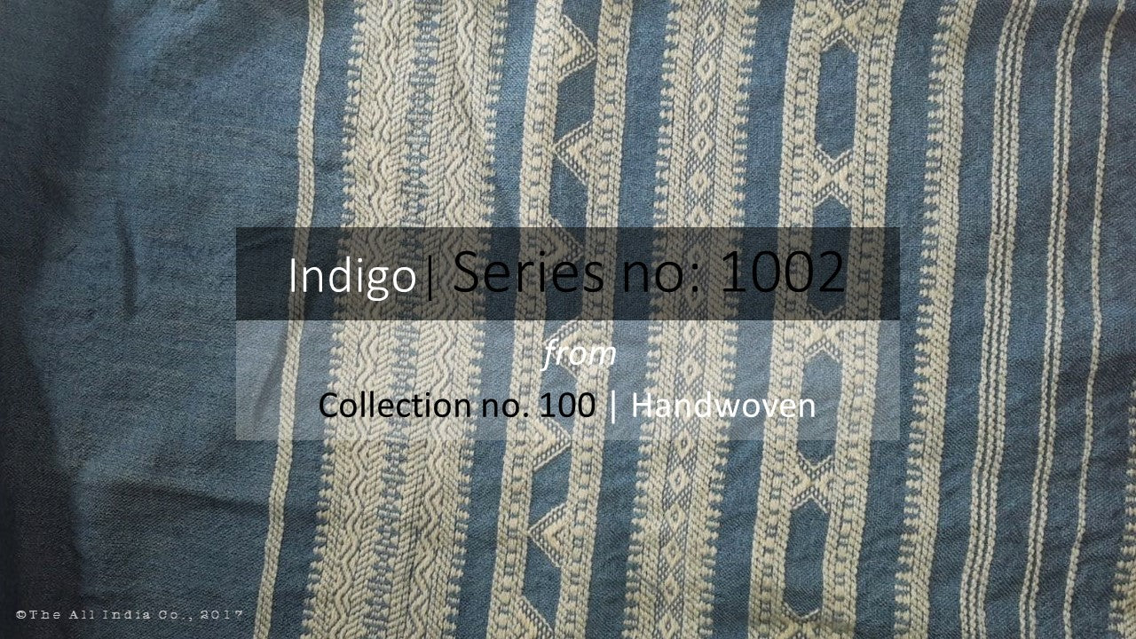 The All India Co handcrafted Indigo dyed throws