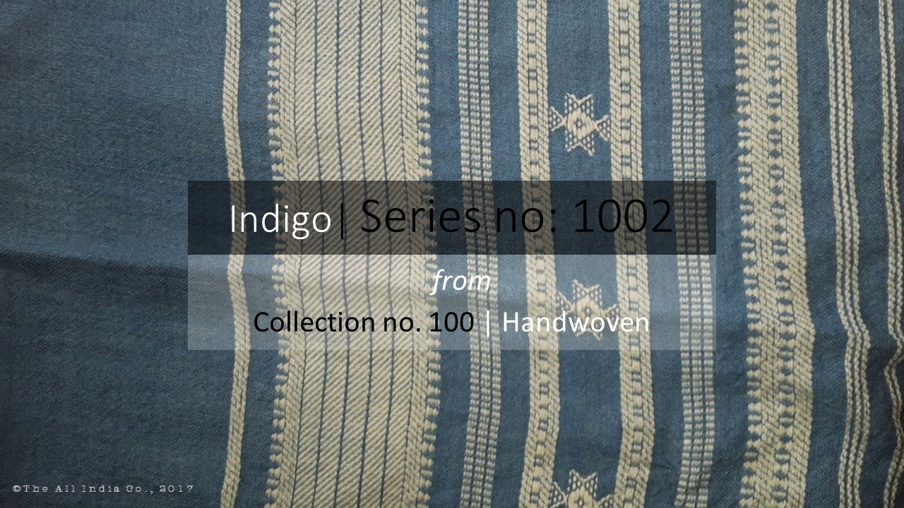 The All India Co TAIC handloom handcrafted natural indigo dyed pure wool throws