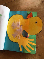 Rubber ducky cutout 4everBound Book