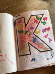 Letter K Preschool 4everBound Book