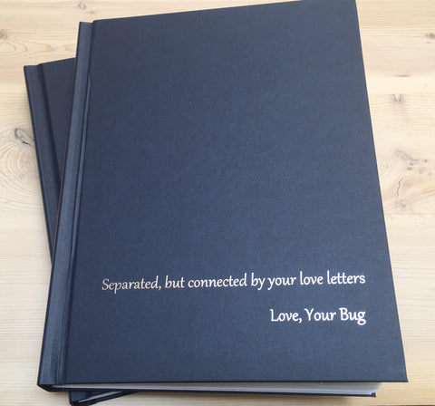 navy blue with silver foil 4everbound books