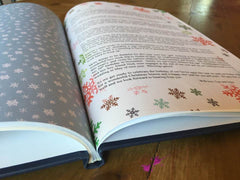 Christmas letter saved in a Sentiment size 4everBound Book