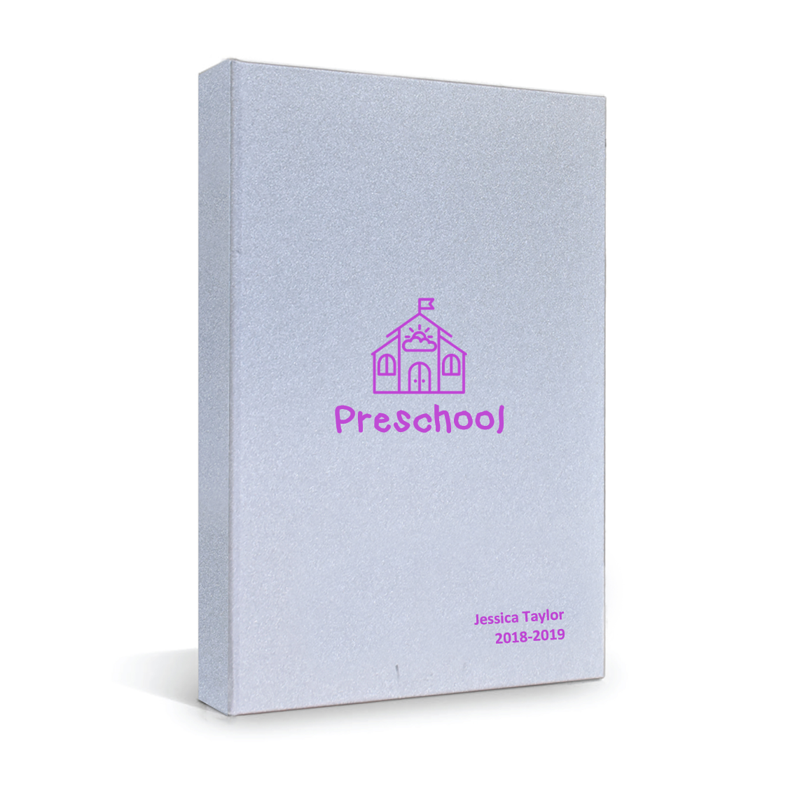 4everbound Preschool Pink on Silver
