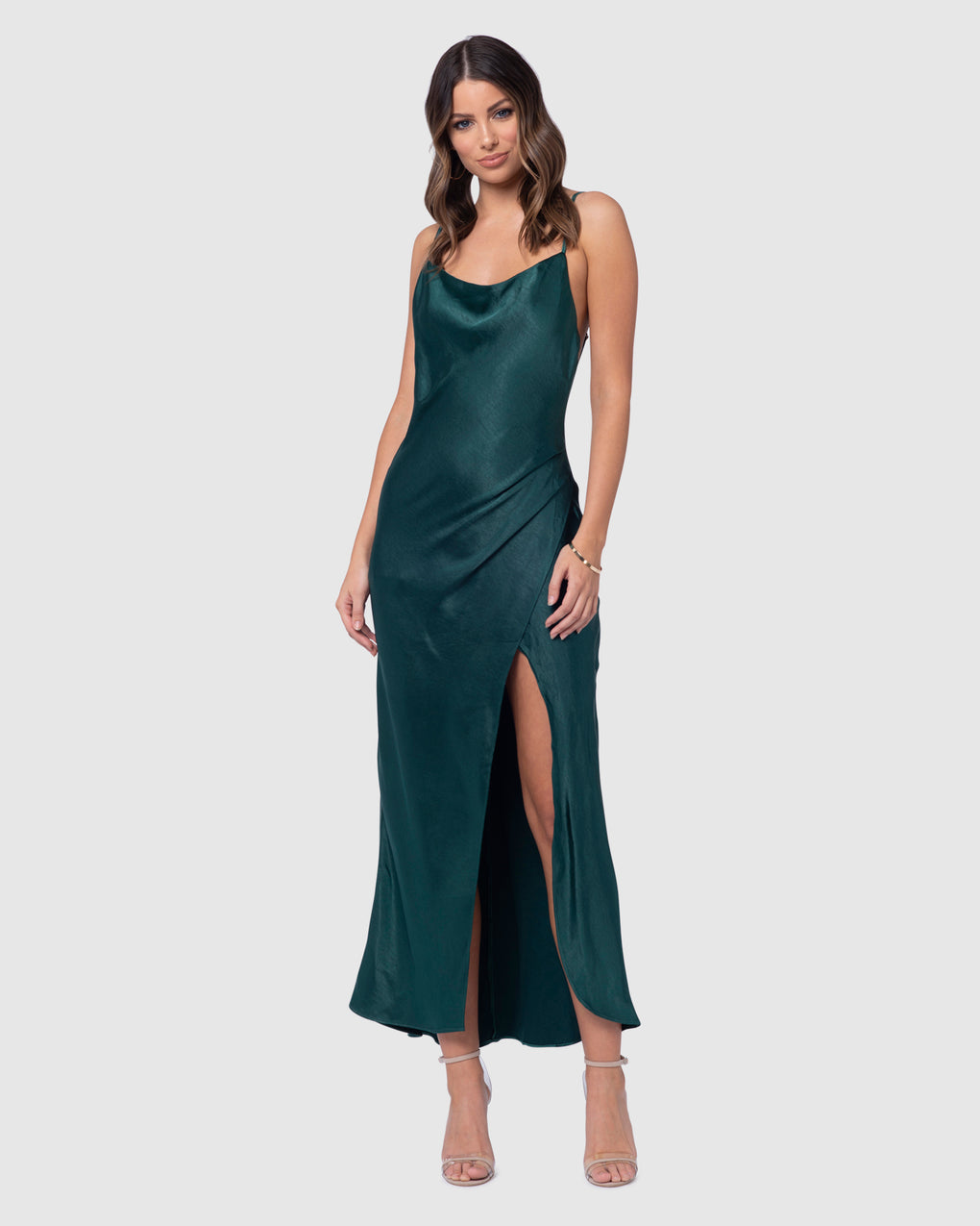 Aurora Satin Dress