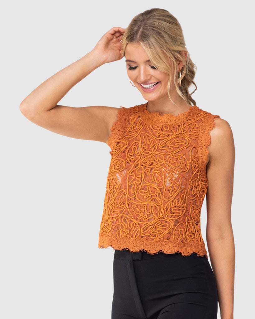 Coral Top