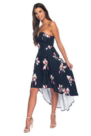 Cleo Floral Axis Dress