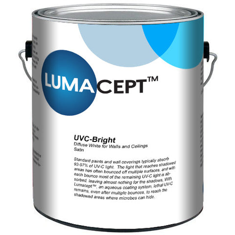 Lumacept UVC-Bright, 1 gallon can