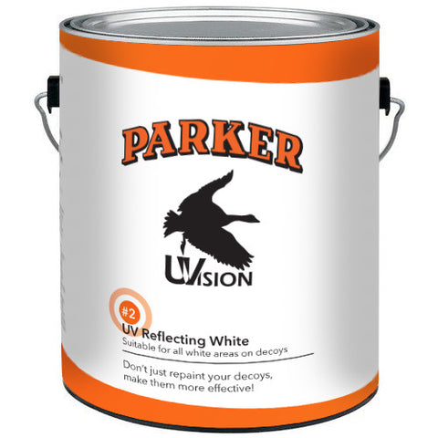 parkers uvision bulk paint 1 gallon can