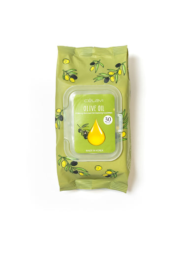 Deep Cleansing Oil Makeup Removing Towelettes- Olive Oil