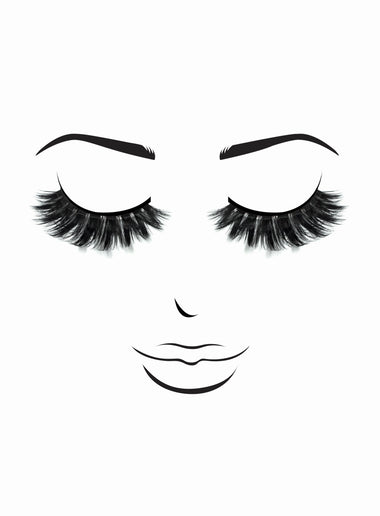 Premium 3D Lashes # 63 Sailor