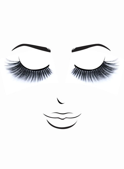 Premium 3D Lashes # 64 Grace