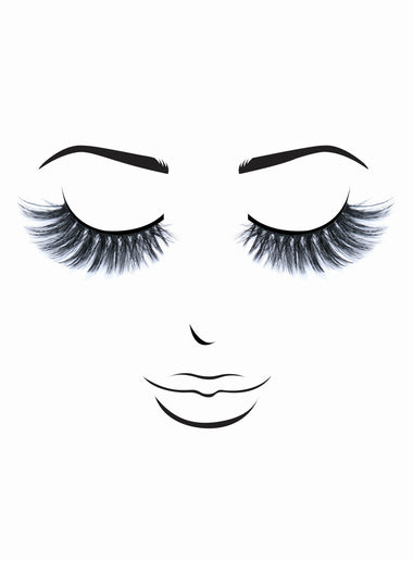 Premium 3D Lashes # 67 Angela