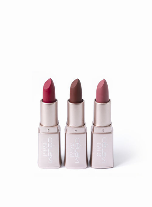 Weightless Matte Lipstick Bundle- Tea Rose